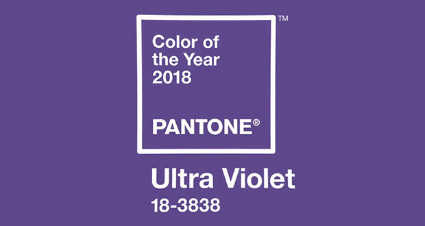 Pantone Names 'Ultra Violet' Color of Year for 2018